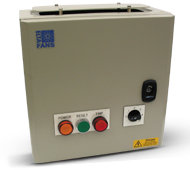 TC3 5-step auto-transformer speed-controllers Three-phase motors only