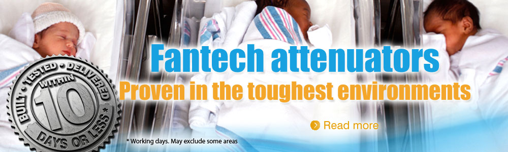 Fantech Attenuators - now available