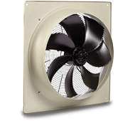Compact 2000 EC Series - Square Plate Axial Fans