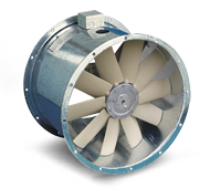 Magnetite Series - High Eff. Adjustable Pitch Axial Fans with Integrated VSD