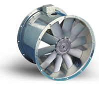 APS Series - Smoke Spill Adjustable Pitch Axial Fans