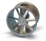 BFA Series - Bifurcated Adjustable Pitch Axial Fans