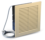 Ezifit In-Wall Exhaust Fan