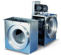 FlexLine Series - Direct Drive Centrifugal Fans
