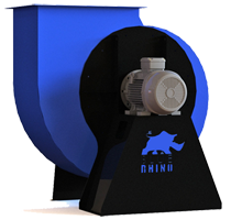 Blue Rhino Single-Width, Single Inlet Blower - Pedestal