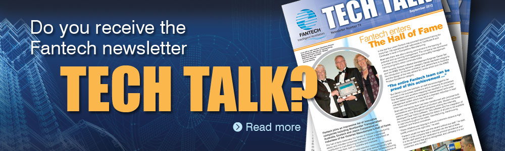 Fantech Techtalk newsletter, Fans, fan technology